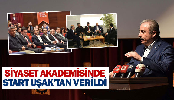 Siyaset akademisinde start Uşak'tan verildi