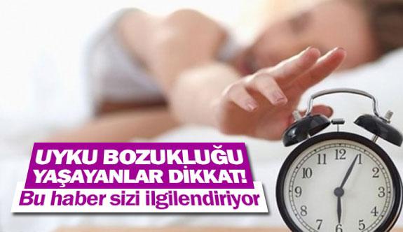 Uyku bozukluğu yaşayanlar dikkat!