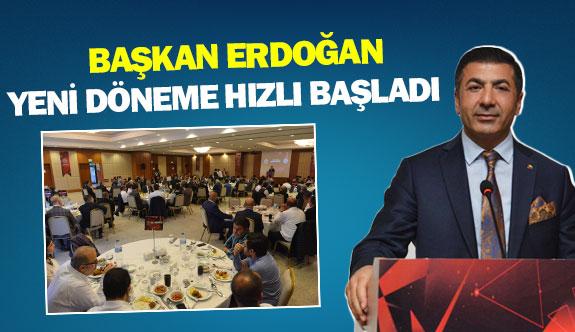 Başkan Erdoğan, yeni döneme hızlı başladı