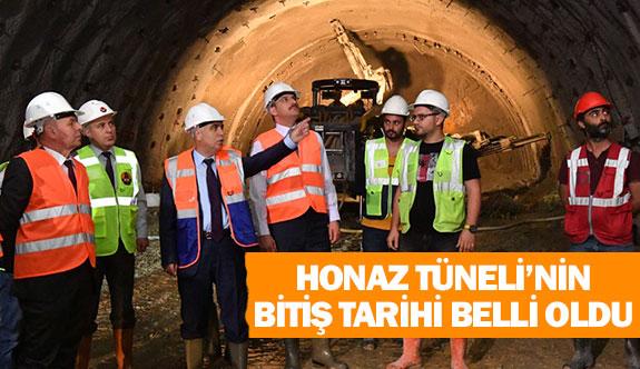 Honaz Tüneli'nin bitiş tarihi belli oldu
