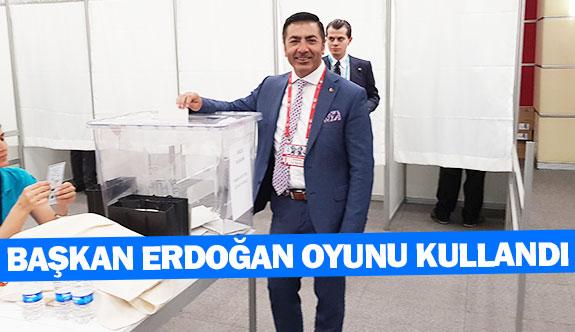 Başkan Erdoğan oyunu kullandı