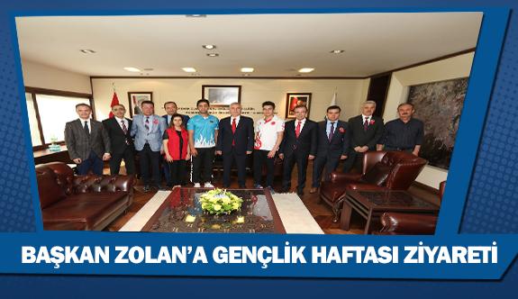 Başkan Zolan'a Gençlik Haftası ziyareti