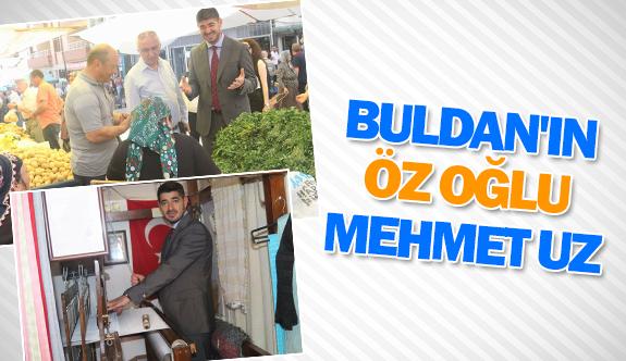 Buldan'ın öz oğlu Mehmet Uz