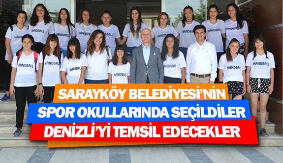 Sarayköy Belediyesi'nin spor okullarında seçildiler, Denizli'yi temsil edecekler