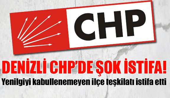 Denizli CHP'de şok istifa!