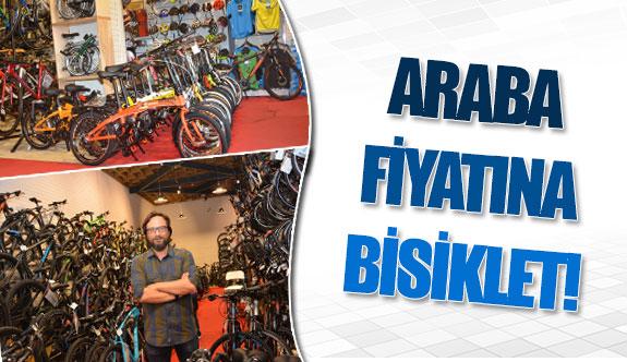 Araba fiyatına bisiklet!