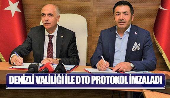 Denizli Valiliği ile DTO protokol imzaladı