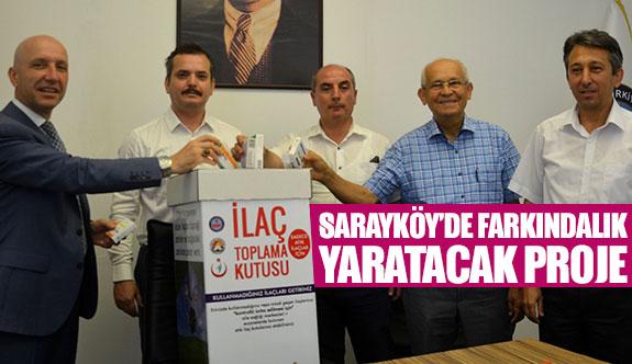 Sarayköy'de farkındalık yaratacak proje