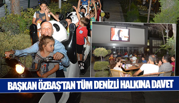 Başkan Özbaş'tan tüm Denizli halkına davet