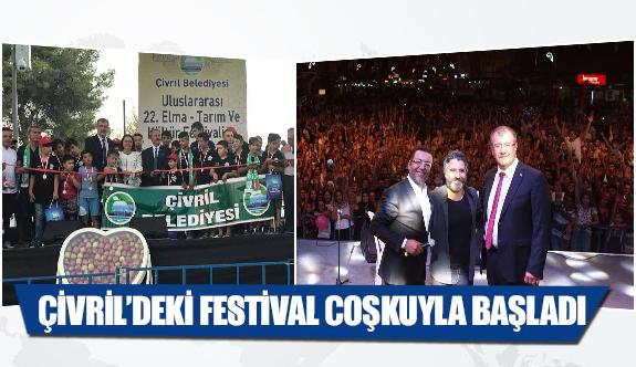 Çivril'deki festival coşkuyla başladı