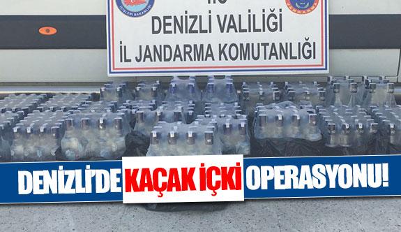 Denizli'de kaçak içki operasyonu!