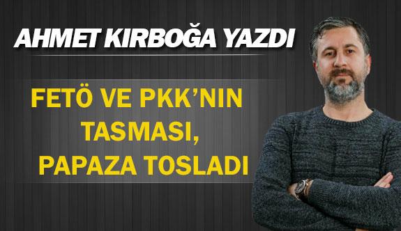 FETÖ VE PKK'NIN TASMASI, PAPAZA TOSLADI