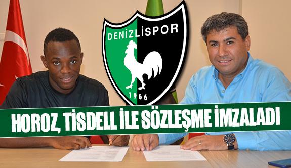 Horoz, Tisdell ile sözleşme imzaladı