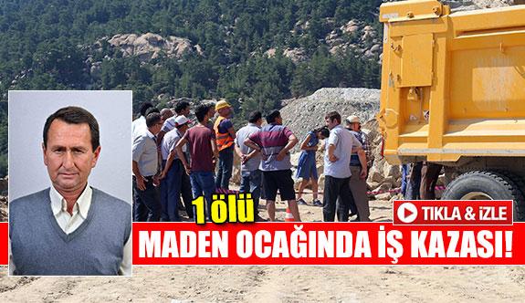 Maden ocağında iş kazası!
