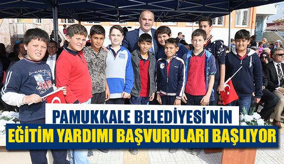 Pamukkale Belediyesi'nin eğitim yardımı başvuruları başlıyor