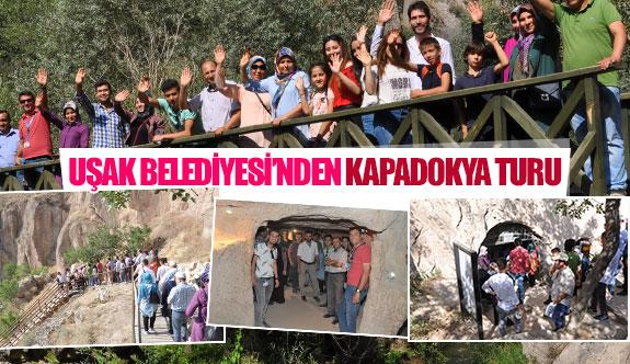 Uşak Belediyesi'nden Kapadokya turu