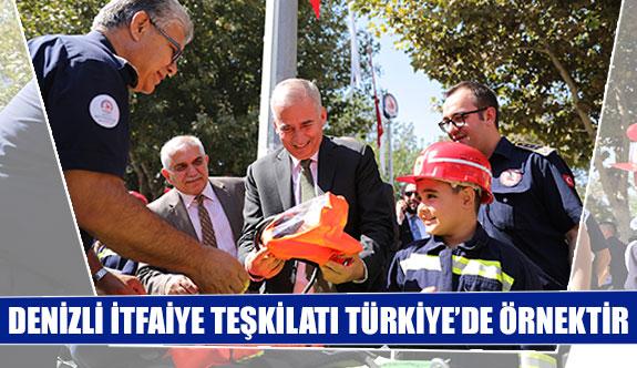 Denizli İtfaiye Teşkilatı Türkiye'de örnektir