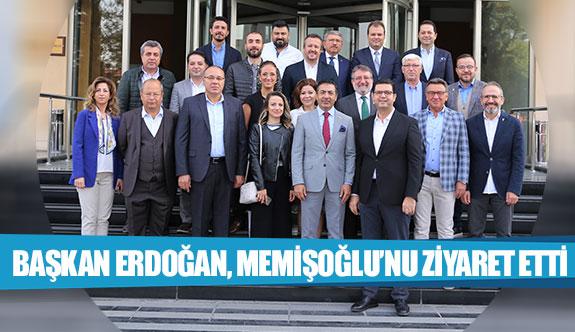 Başkan Erdoğan, Memişoğlu'nu ziyaret etti