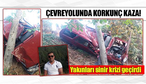 Çevreyolunda korkunç kaza!