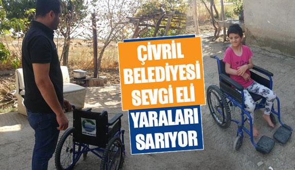 Çivril Belediyesi sevgi eli yaraları sarıyor
