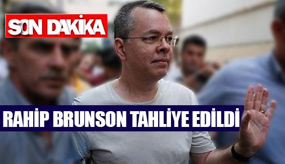 Rahip Brunson tahliye edildi
