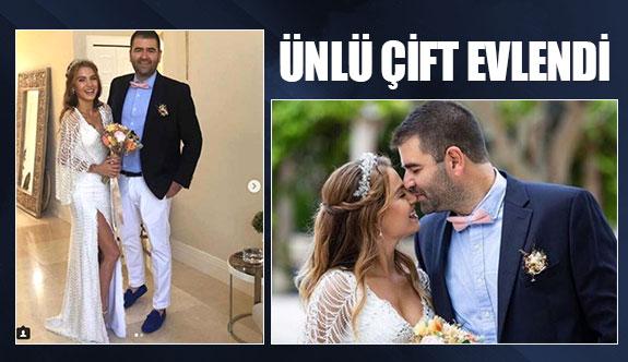 Ünlü çift evlendi