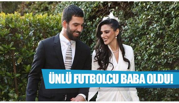 Ünlü futbolcu baba oldu!
