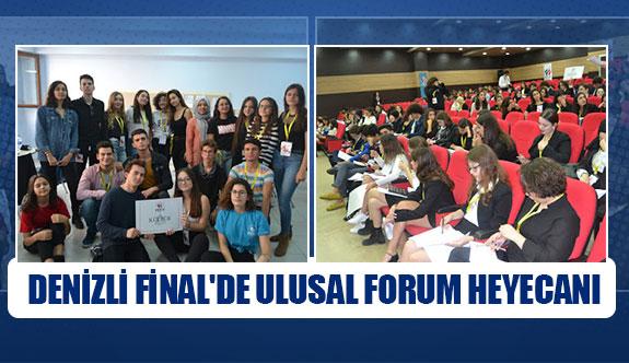 Denizli Final'de ulusal forum heyecanı