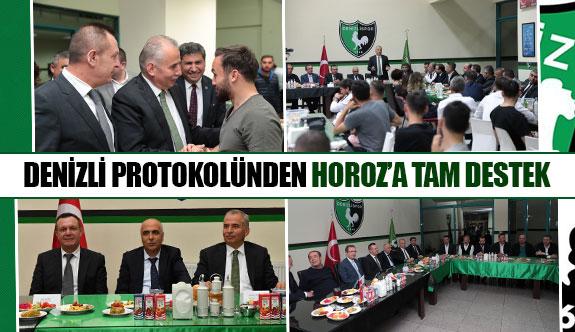 Denizli protokolünden Horoz'a tam destek
