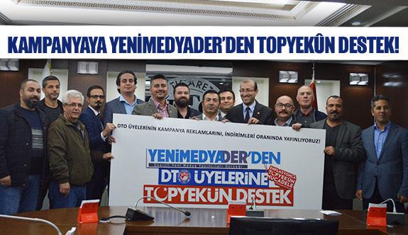 Kampanyaya YENİMEDYADER'den topyekûn destek!