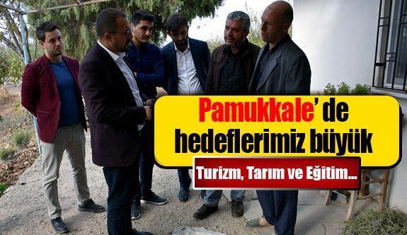 Mehmet Teke'nin Pamukkale'de hedefleri büyük