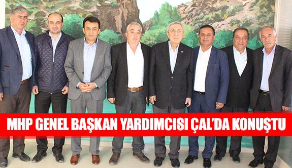 MHP genel başkan yardımcısı Çal'da konuştu