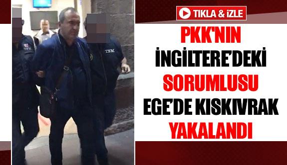 PKK'nın İngiltere'deki sorumlusuEge'de kıskıvrak yakalandı