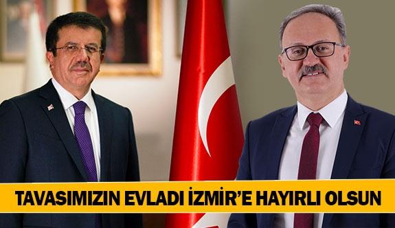 Tavasımızın evladı İzmir'e hayırlı olsun