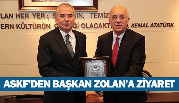 ASKF'den Başkan Zolan'a ziyaret