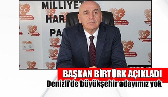 Başkan Birtürk açıkladı