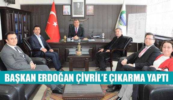 Başkan Erdoğan Çivril'e çıkarma yaptı