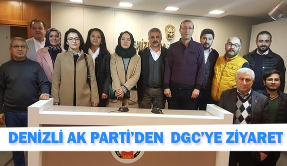 Denizli Ak Parti'den DGC'ye ziyaret
