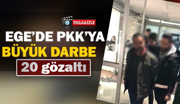 Ege'de PKK'ya Büyük Darbe