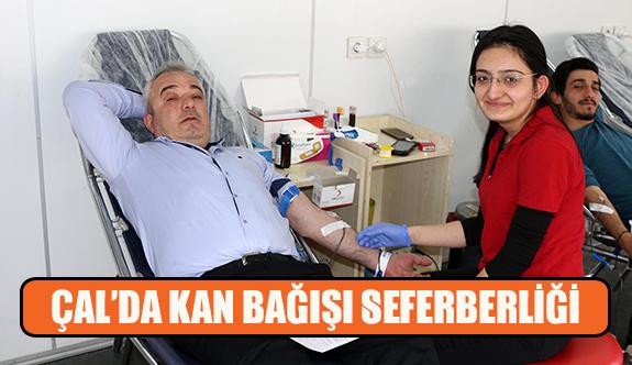 Çal'da kan bağışı seferberliği