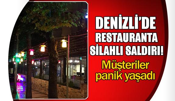 Denizli'de restauranta silahlı saldırı!