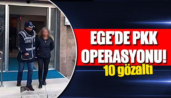 Ege'de PKK operasyonu!