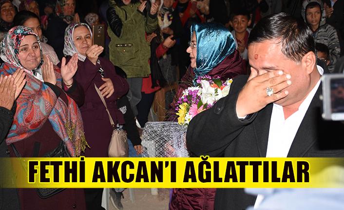 Fethi Akcan'ı ağlattılar