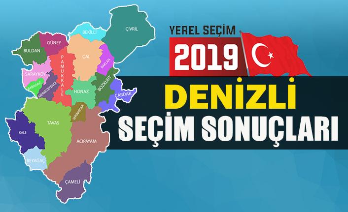 İşte Denizli büyükşehir belediye başkan adayı sonuçları