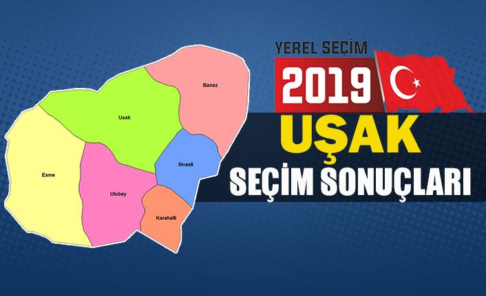 İşte Uşak Belediye başkan sonuçları