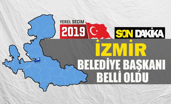 İzmir belediye başkanı belli oldu