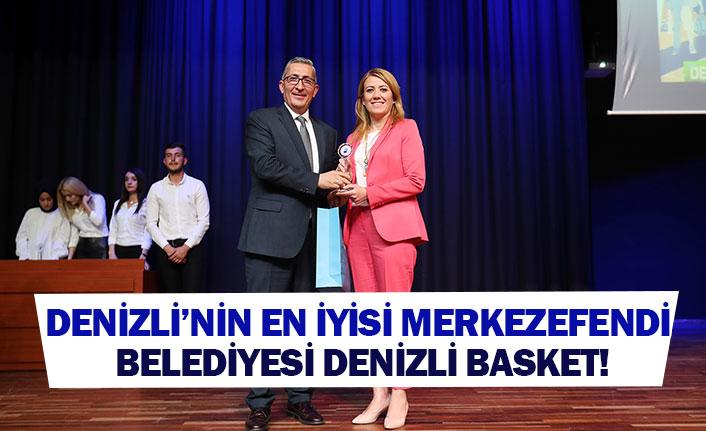 Denizli'nin en iyisi Merkezefendi Belediyesi Denizli Basket!