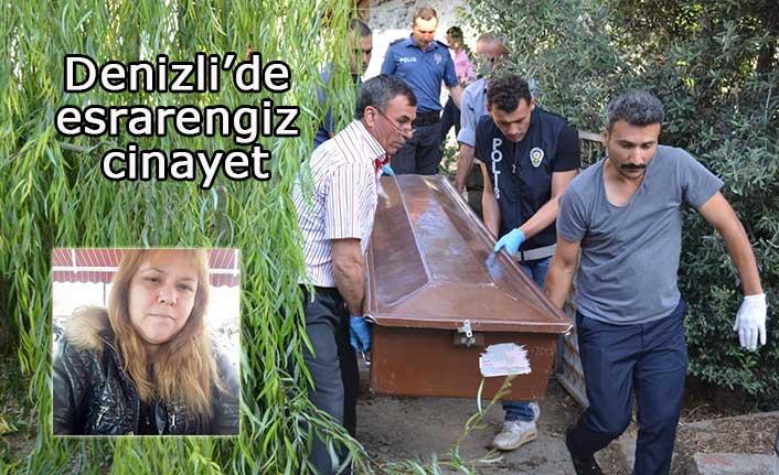 Denizli'de esrarengiz cinayet