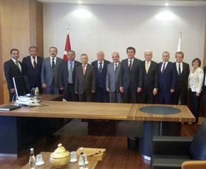 Denizli heyeti Ankara'da