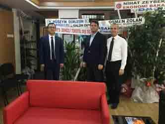 Başkan Memişoğlu'na DTS İhracat ve DETGİS' ten ziyaret
